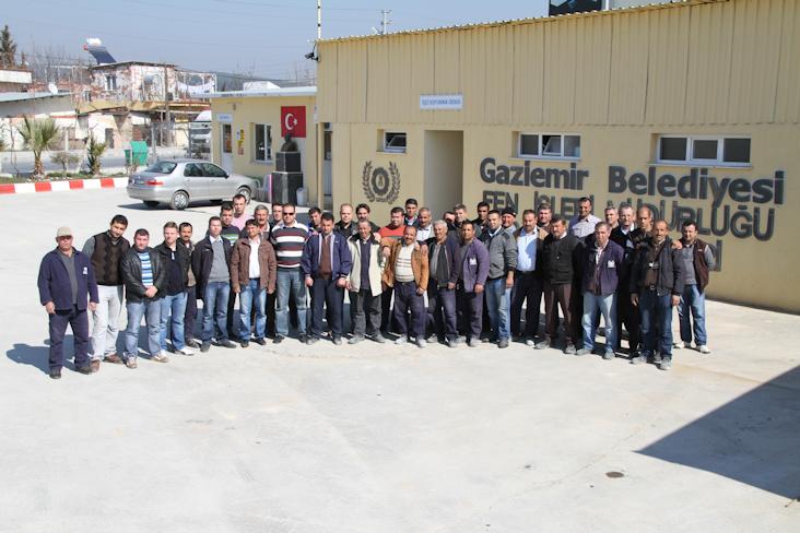 Gaziemir Belediyesi Fen İşleri Şantiyesi