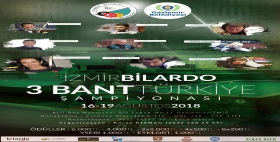 Şampiyon bilardo sporcuları Gaziemir'de buluşacak