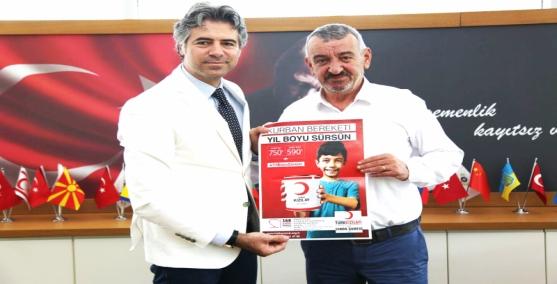 Başkan Şenol'dan Kızılay'a destek çağrısı
