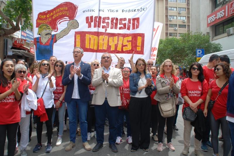 Başkan Arda'dan 1 Mayıs mesajı  'Çalışanların başımızın üstünde yeri var'