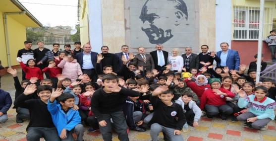 Eğitimcilerden Başkan Şenol'a teşekkür