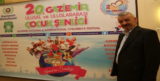 Gaziemir'in şenliğinde 20. yıl gururu