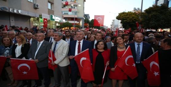 Gaziemir'de 29 Ekim coşkusu